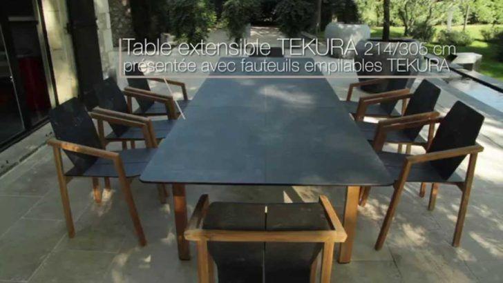 interior design:Meuble Jardin Teck Table Et Fauteuils Tekura Les Jardins Salon J…