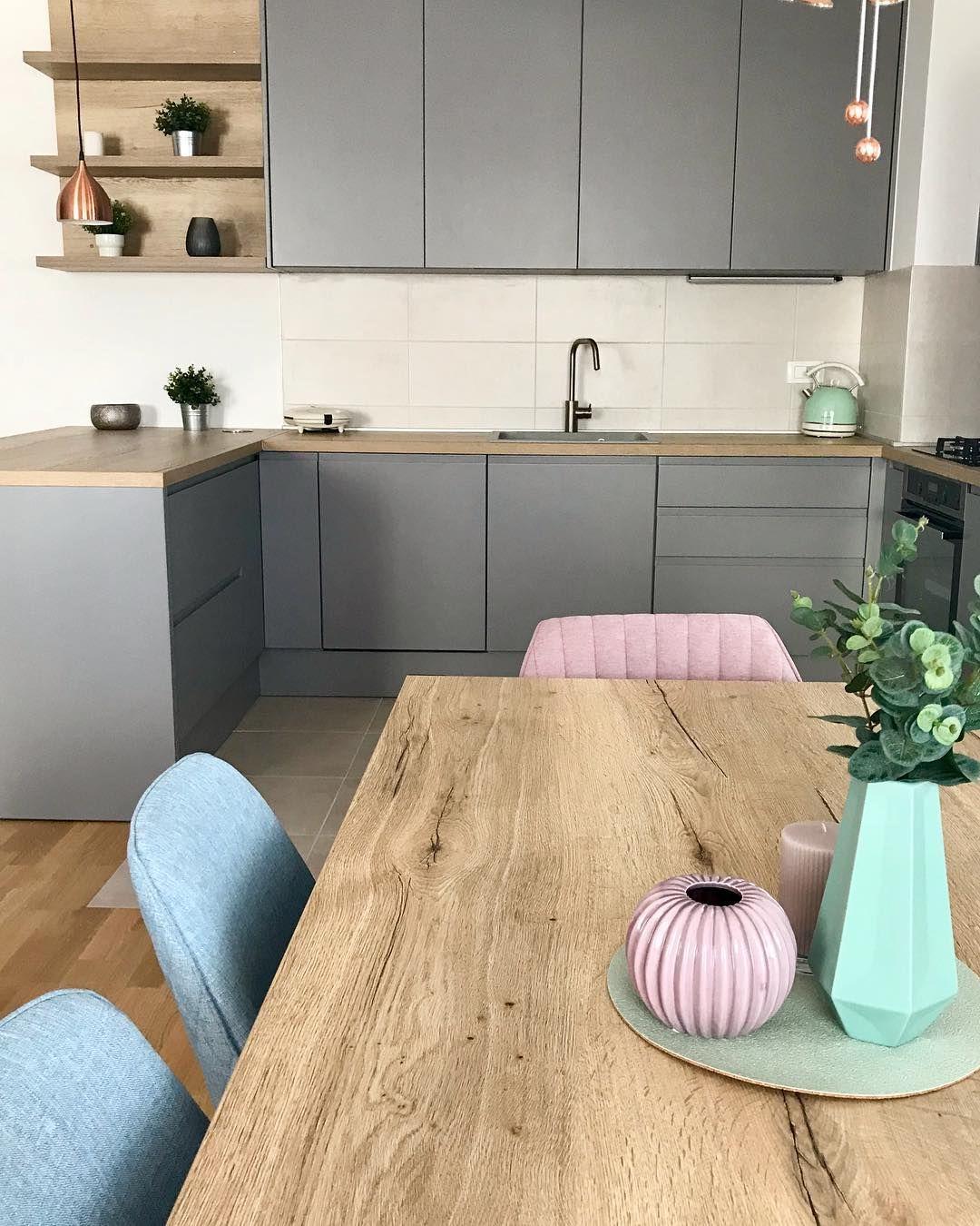#interiordesign #kitchen #greykitchen #design #home