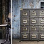 mobilier industriel et transformation de vestiaires armoires metalliques et deco...