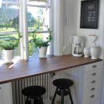 petite cuisine-déco de seuil idées belles et créatives - pour-une-haute Fensterbank -...