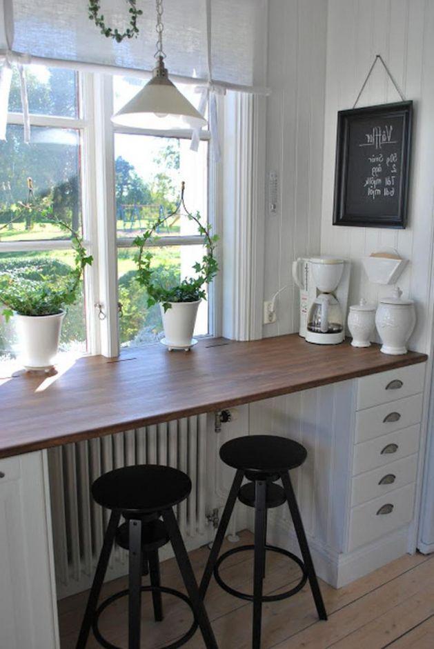 petite cuisine-déco de seuil idées belles et créatives – pour-une-haute Fensterbank -…