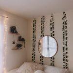 plantes vertes murs blancs reflètent la chambre de l'adolescence - dortoir