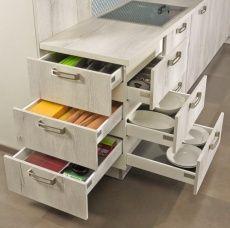 """""""Multilevel"""": meuble à tiroirs tendance de kuhlmann Küchen (Bildque …"""