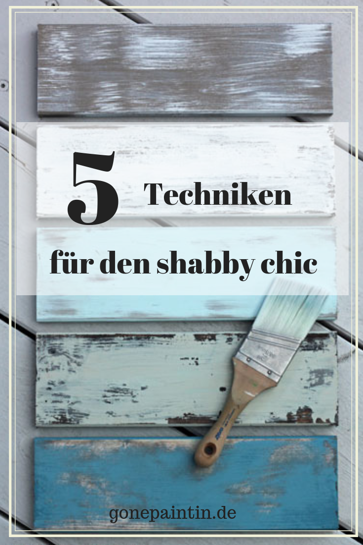 shabby chic – techniques