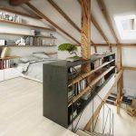 suite parentale sous toit clair parquet parquet clair mobilier de chambre mobilier de chambre - Les plus belles idées de mobilier