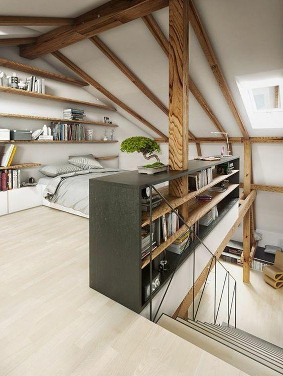 suite parentale sous toit clair parquet parquet clair mobilier de chambre mobilier de chambre – Les plus belles idées de mobilier