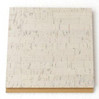 1/2″ Bleached Birch Floating Cork Flooring Sample