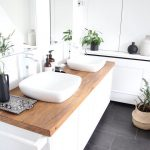13 Wood Bathroom Countertop Ideas You'll Want to Steal