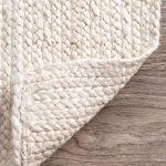 Burrillville Hand-Tufted Off-White Area Rug