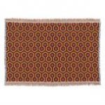 Shining iconic hotel carpet pattern throw   Zazzle.com