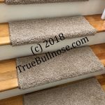 True Bullnose™ and True Flat™  PADDED Carpet Stair Treads