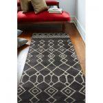 """Wade Logan Laflin Hand-Tufted Wool Charcoal Indoor Rug Rug Size: Rectangle 3'6"""" x 5'6"""""""