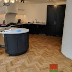 Chevron flooring engineered or solid wood London