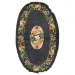 1stdibs Chinese / East Asian Rug - Antique Oval Accent Pictorial Phoenix Chinese Chinese Export Wool