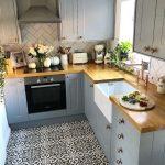 29+ Ideen und Design für Küchenböden  - Katy Hagert - #Design #für #Hagert #...