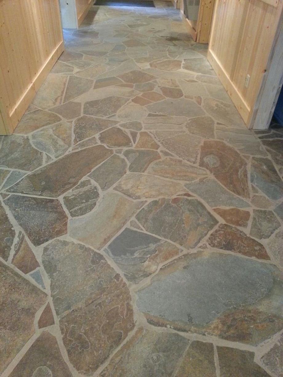 34 Perfect Outdoor Stone Tile Flooring Ideas