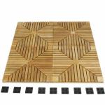 50 Cartons Diamond Teak Floor Tiles