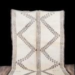 6x10 ft Beni ourain rug, Moroccan rug, Berber carpet, Morocco rug, Berber teppich, Oriental carpet, Moroccan wool rug, tapis berbere, #2001