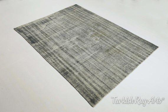 6×8.2 ft TURKISH RUG, OUSHAK Rug. Hand-Knotted Rug, Area Rug, Oushak Rug, Handmade Rug, Vintage Rug, Wool Rug, Tribal Rug, Authentic Rug