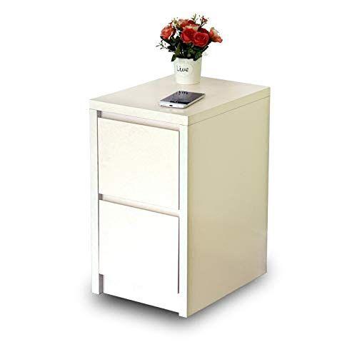 AINIYF Solid Wood Bedside Cabinet Narrow Cabinet Storage Bedside Locker Floor Ca…