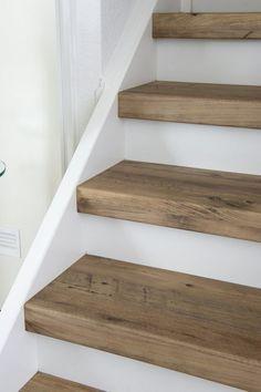 Afbeeldingsresultaat voor long edge between woodlike tile and laminate flooring