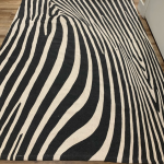 Anthropologie Rug black cream natural cotton zebra Beautiful rug from Anthropolo...