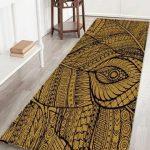 Antiskid Plant Print Floor Decor Area Rug
