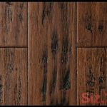 Bamboo Flooring Sedona Trail Distressed Wide Plank Click Engineered Bamboo Floor...