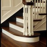 Beautiful Dark Walnut Hardwood Flooring and staircase from Carlisle Wide Plank F...