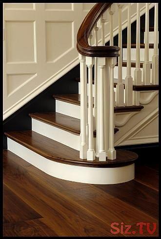 Beautiful Dark Walnut Hardwood Flooring and staircase from Carlisle Wide Plank F…
