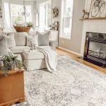 Beautiful farmhouse cottage style livingroom home with grey walls (Rodda Rand Mo...