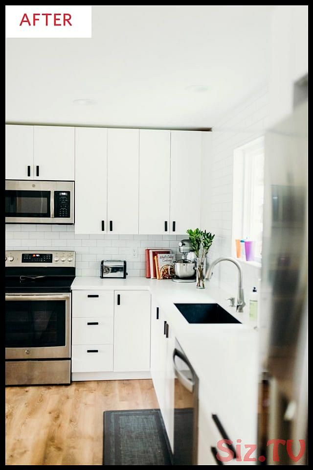 Before and After This Kitchen Is Now the Opposite of Dark and Dreary Before and …