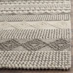 Billie Hand-Tufted Cotton/Wool Gray/Ivory Area Rug