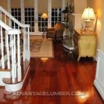 Brazilian Cherry flooring contains each finished and unfinished wood segments in...