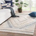 Bungalow Rose Mcjunkin Geometric Gray/Beige Indoor/Outdoor Area Rug | Wayfair