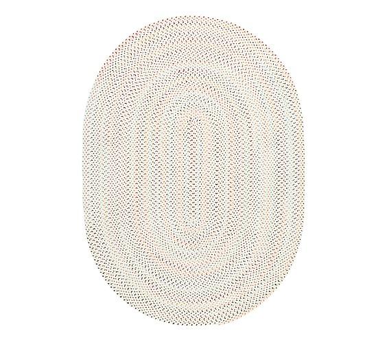 Capel Confetti Oval Rug