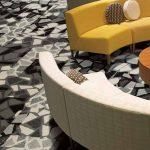 Contemporary Carpet Tiles – modular decorative floor carpet tile by InterfaceFlor