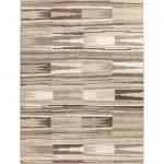 "Contemporary Earth Tone Color Abstract Area Rug Modern Oriental Carpet - 7'10"" x 10'6"" (7'10"" x 10'6"" - Multi-Color), Multicolor"