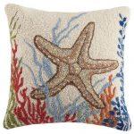 Custom Boat Pillows: 18x18 Hand Hooked Pillows