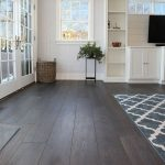 Dark Wide Plank Hardwood Flooring