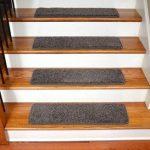 "Dean Premium Stair Gripper Tape Free Non-Slip Pet Friendly DIY Carpet Stair Treads 30""x9"" (15) - Frontgate Gray"