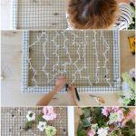 Dekoration mit Lichtern und Blumen – lifeannstyle.com – DIY Ligh