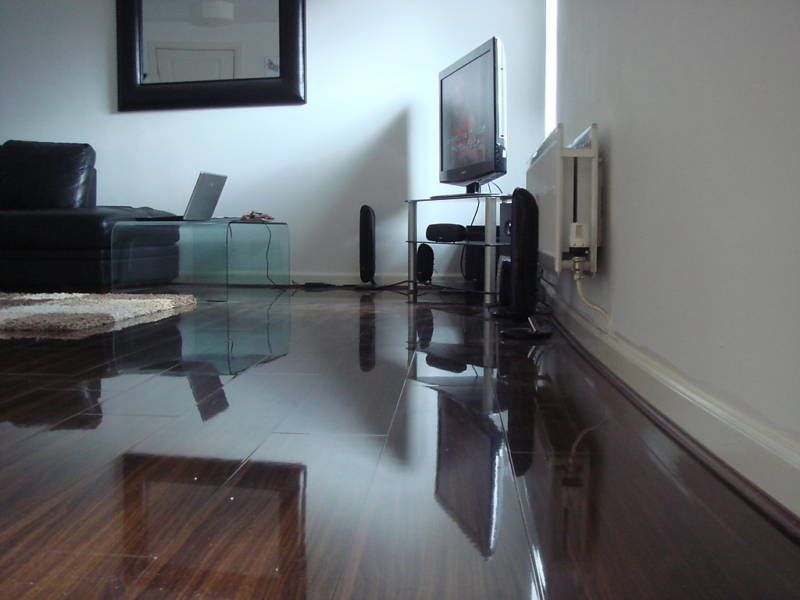 Details about Super High Gloss Laminate Flooring Cheapest In UK