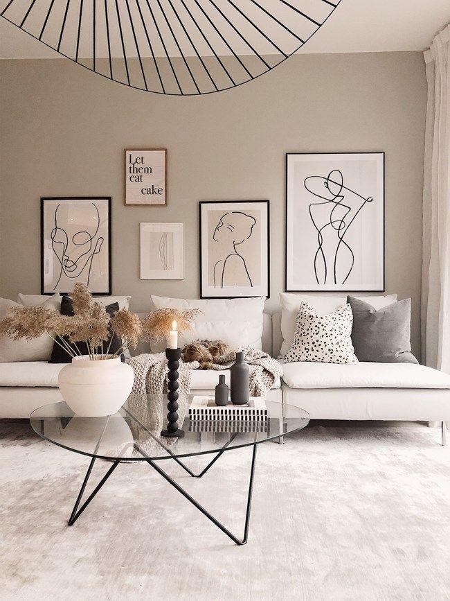 rebfre Schöne Wohnzimmer Interieur-Idee #Wohnzimmer #interiorideen #woonkamer #…