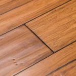 Distressed Mocha Fossilized® Handscraped Bamboo Wood Floors - Wide Click