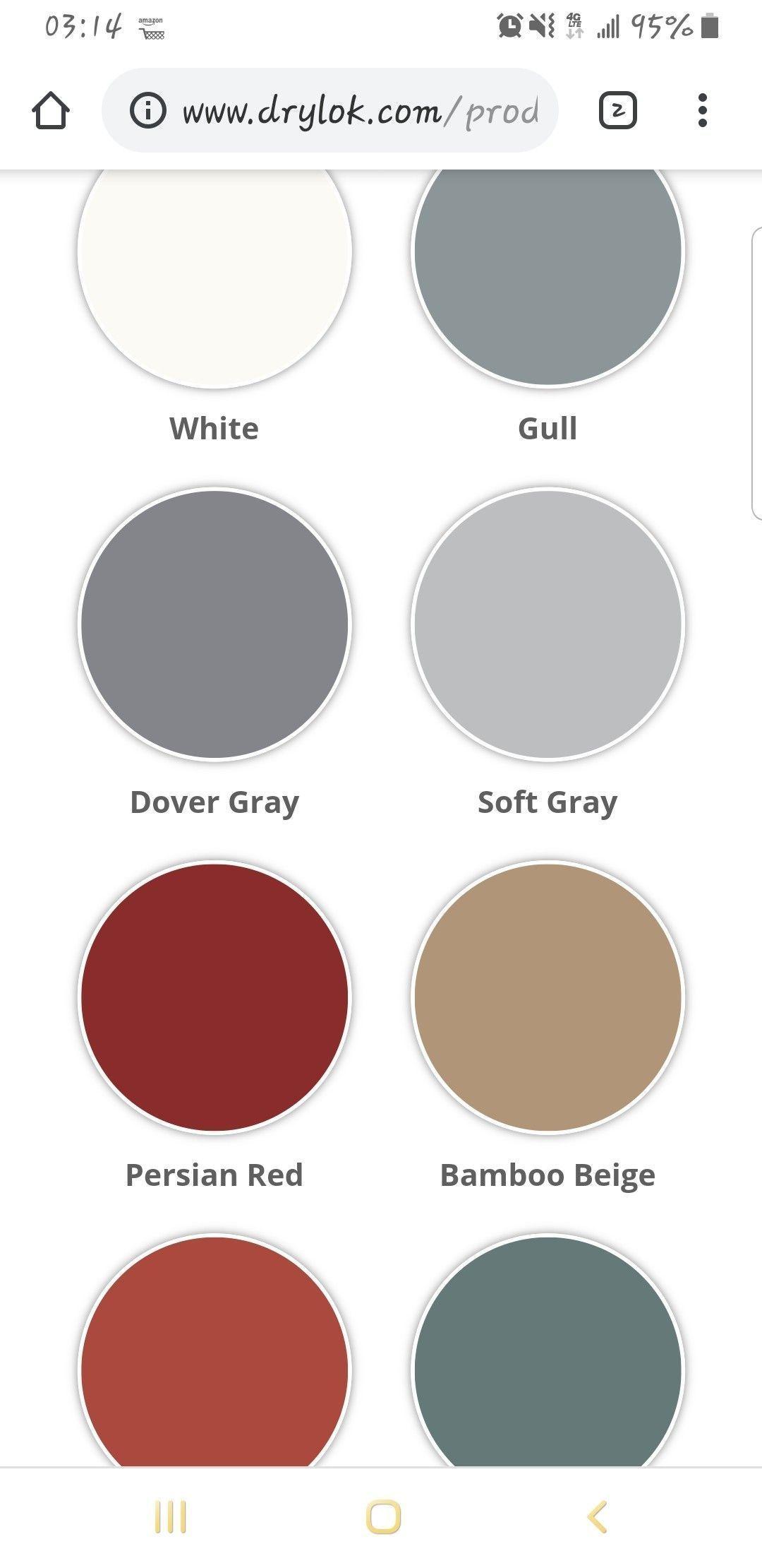 Drylok latex basement floor paint color options - elsesun ...