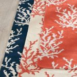 Durable and versatile, our reversible flatweave Coral Reef Rug offers year-round...