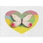 East Urban Home Butterfly Yellow Area Rug