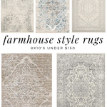 Farmhouse Style Rugs Under $150