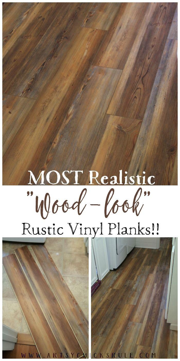 Farmhouse Vinyl Plank Flooring (One Room Challenge, Week 5)